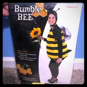 Adult Bumble Bee Halloween Costume One Size